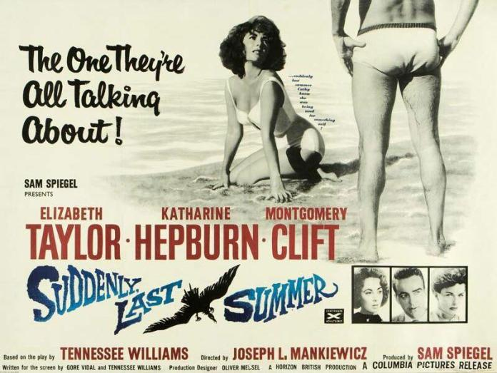 SUDDENLY, LAST SUMMER - American Poster 5