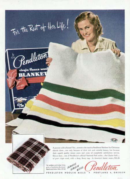 Pendleton ad. Glacier Dec42.jpg