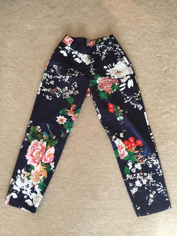 katie floral pants
